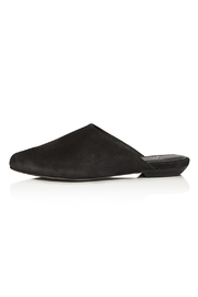 Eileen Fisher Blog Suede Sandal - Front full body