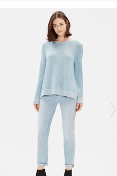 Eileen Fisher Chenille Sweater - Product List Image