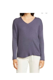 Eileen Fisher Dusty Purple Sweater - Product Mini Image