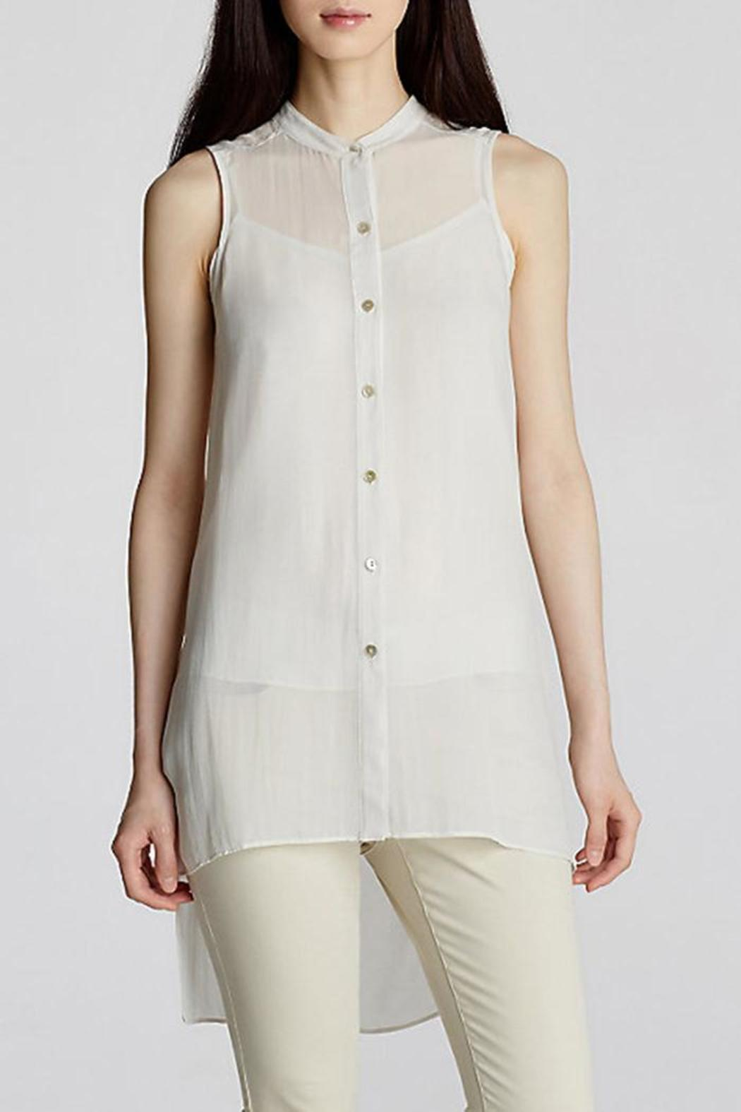 23f8cf8bd8e Eileen Fisher Mandarin Collar Tunic from District of Columbia by The ...