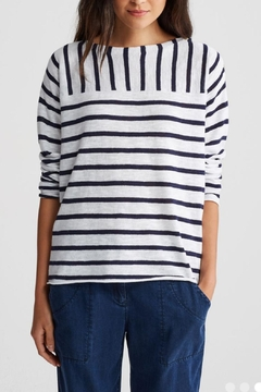 Eileen Fisher Stripe Sweater - Product List Image