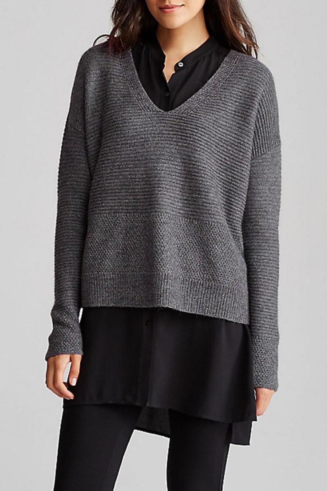 6c9ac13441f Eileen Fisher V-Neck Box Top from District of Columbia by The ...