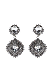 Eileens Boutique Jasmine Silver Pendant Earrings - Product Mini Image