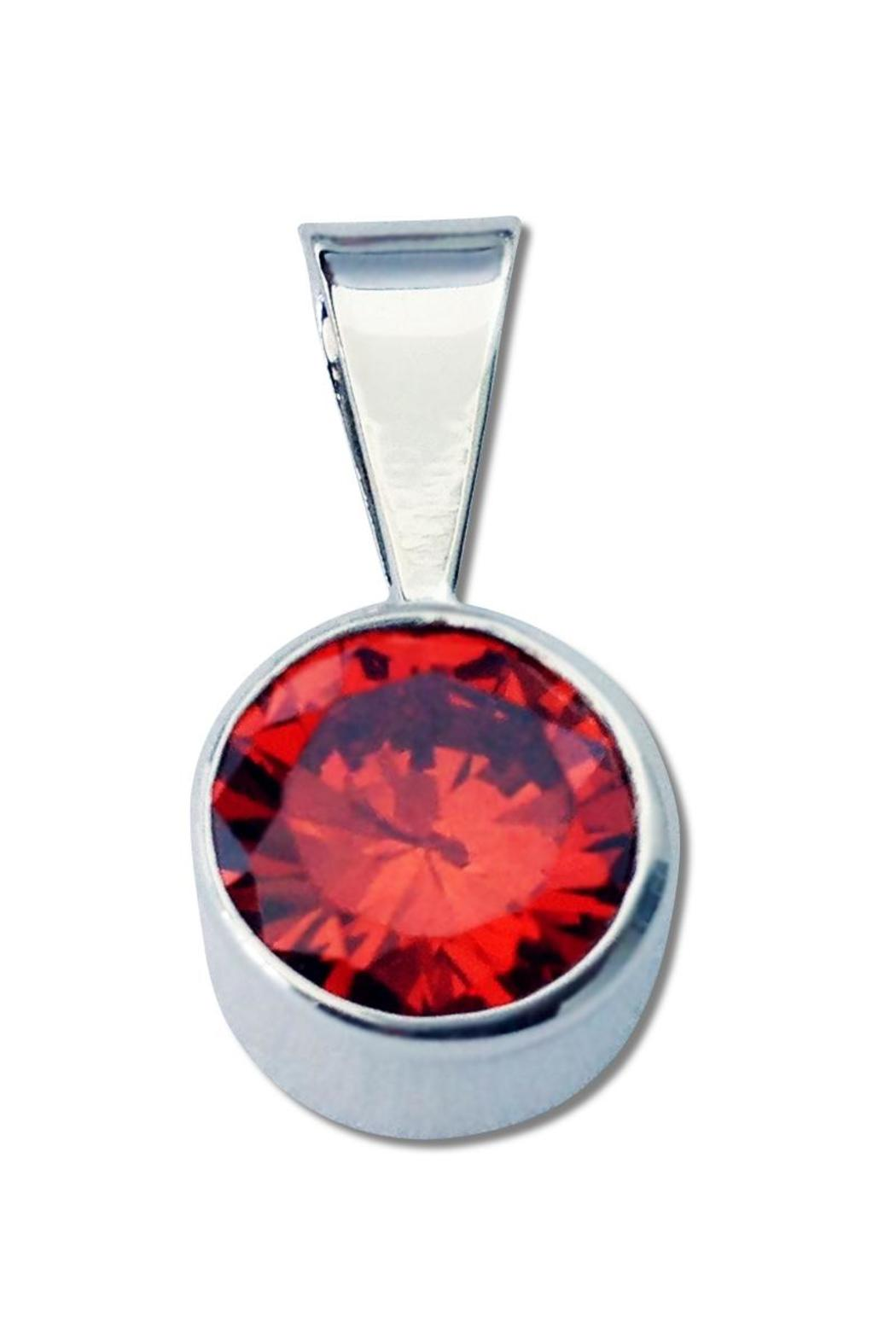 El Abuelo Round Pendant - Front Cropped Image
