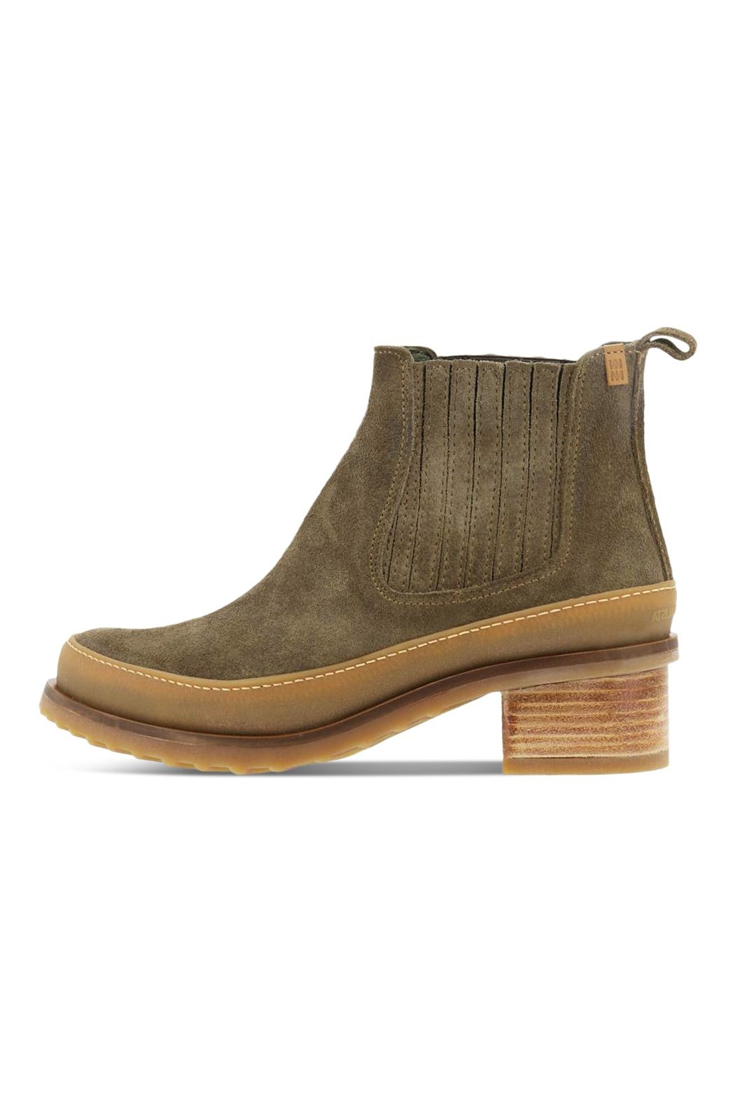El Naturalista Heeled Ankle Boots - Front Cropped Image