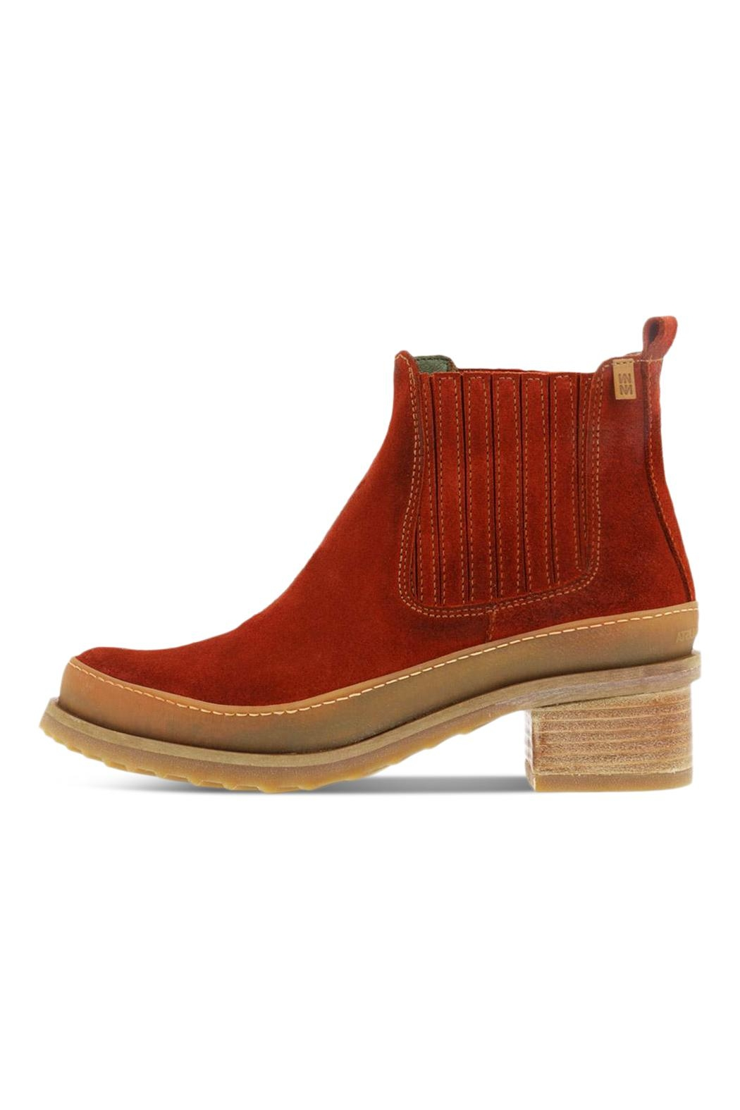 El Naturalista Heeled Ankle Boots - Main Image