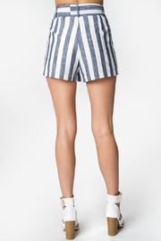 Sugar Lips Elaine Striped Shorts - Front full body