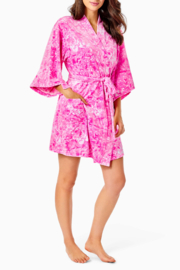 Lilly Pulitzer  Elaine Velour Robe - Other