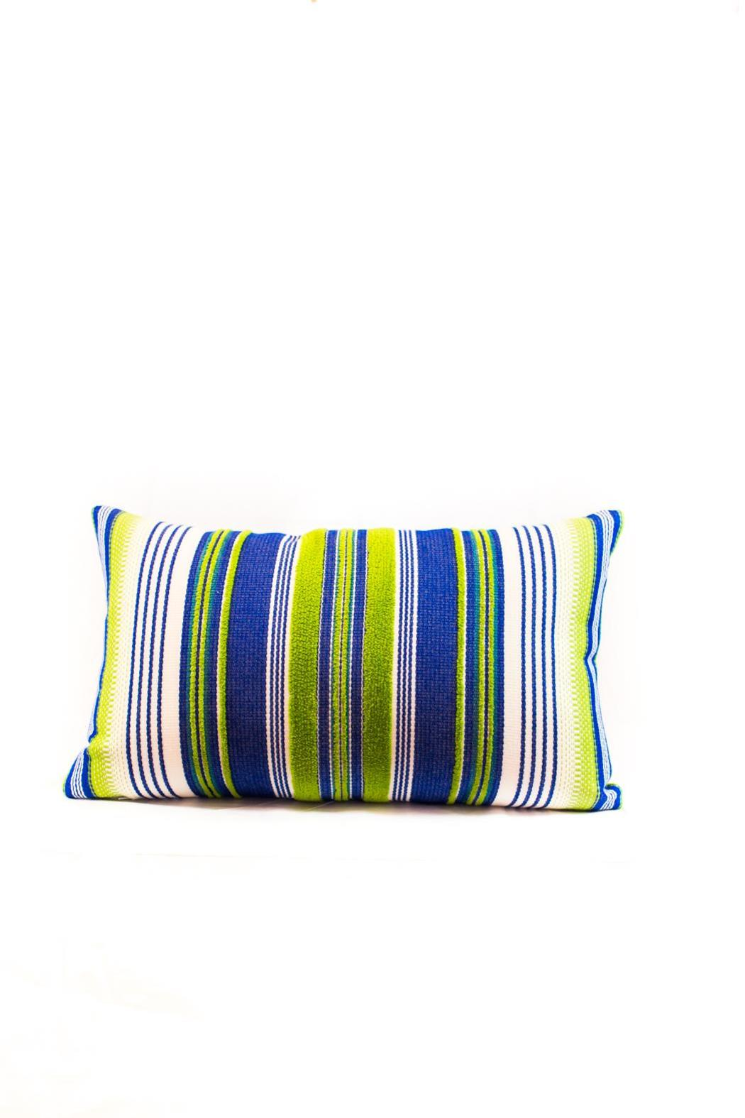 Elaine Smith Deep Sea Lumbar Pillow - Main Image
