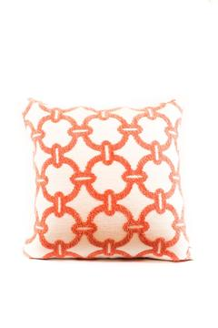 Shoptiques Product: Hibiscus Hoop Pillow