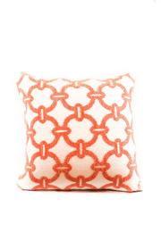 Elaine Smith Hibiscus Hoop Pillow - Product Mini Image