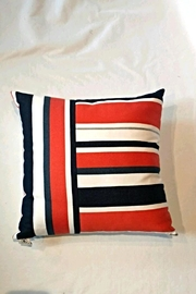 Elaine Smith Riviera Stripe Pillow - Front cropped