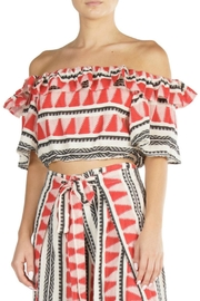 Elan Aztec Red Top - Product Mini Image