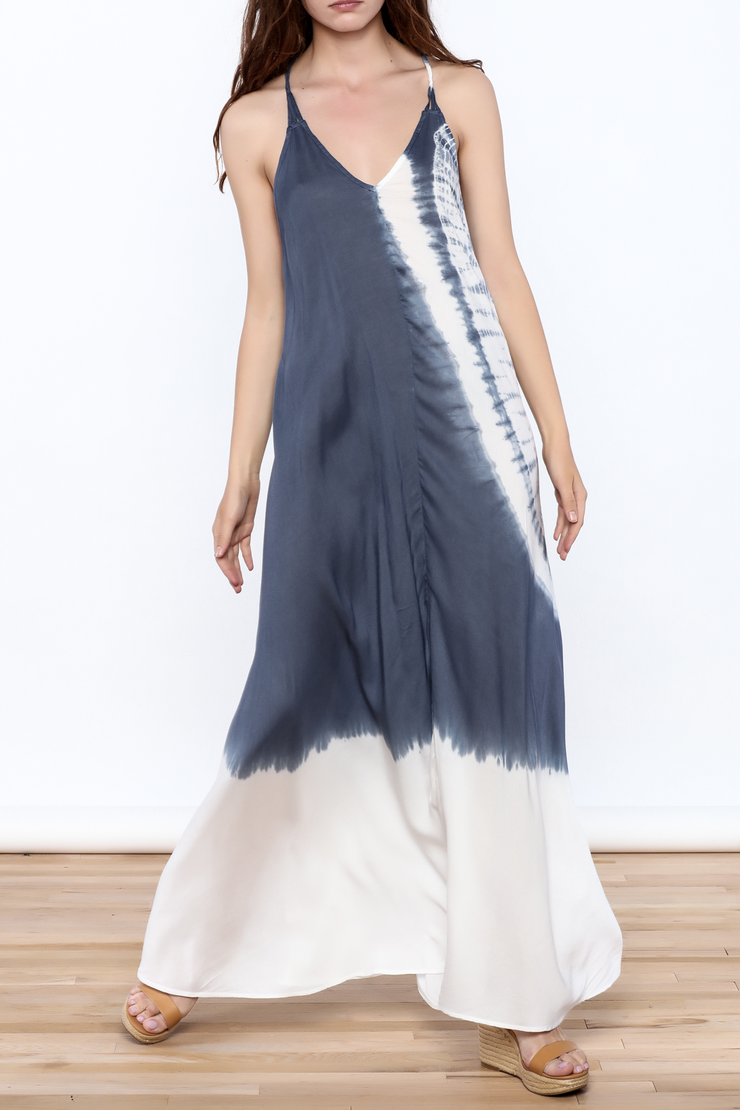 Elan Beaded Maxi Dress - Main Image