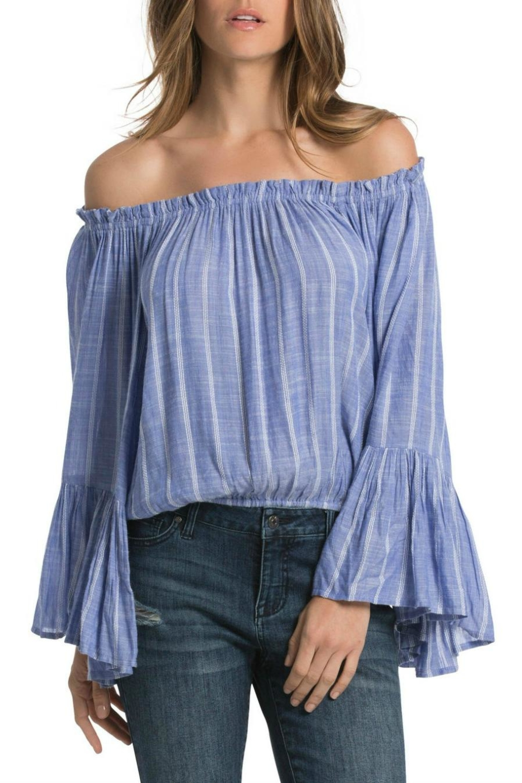 Elan Bell Sleeve Beauty - Front Cropped Image