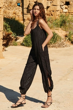 Elan Bianca Pocketed Jumpsuit - Product List Image