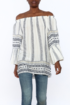 Shoptiques Product: Boho Off-Shoulder Top