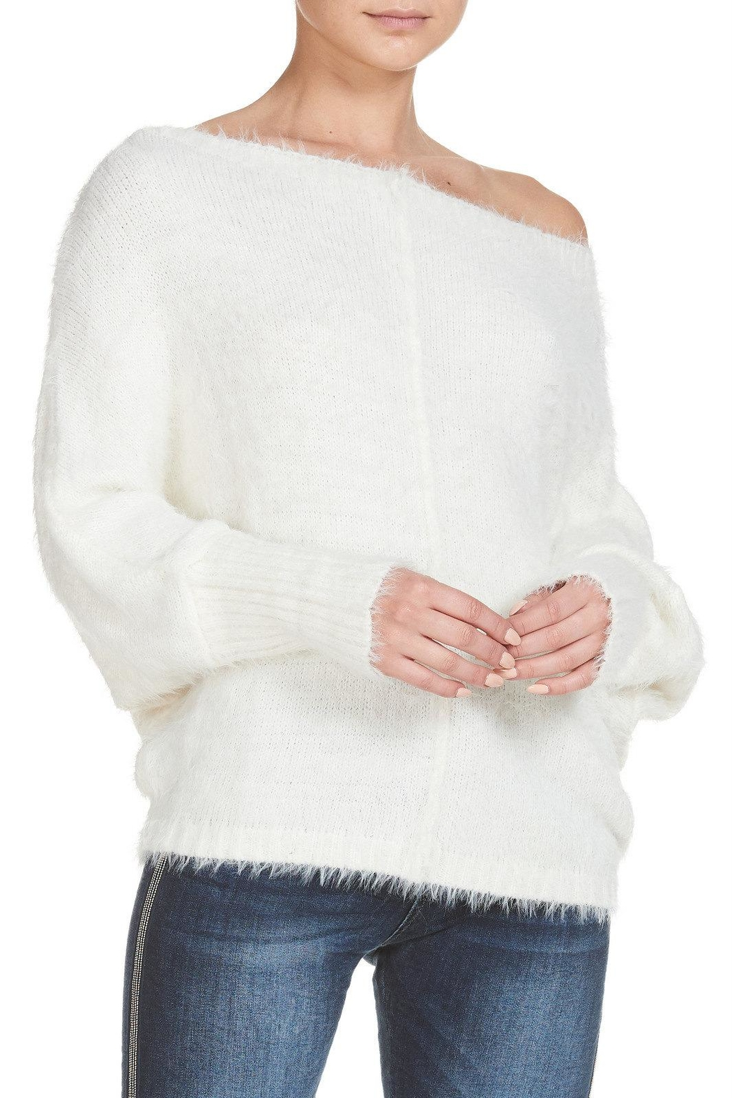 Elan Brush Knit Sweater - Main Image