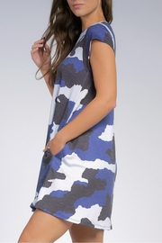Elan Camo Pocketed Dress - Side cropped
