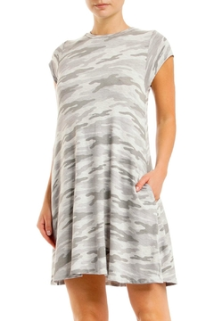 Elan Camo Pocketed Dress - Product List Image