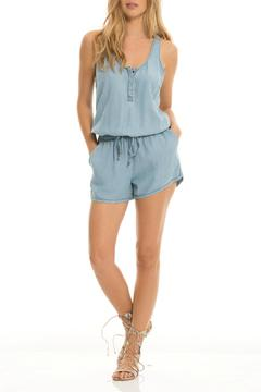 Shoptiques Product: Chambray Denim Romper