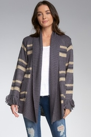 Elan Charcoal Sweater Cardigan - Product Mini Image