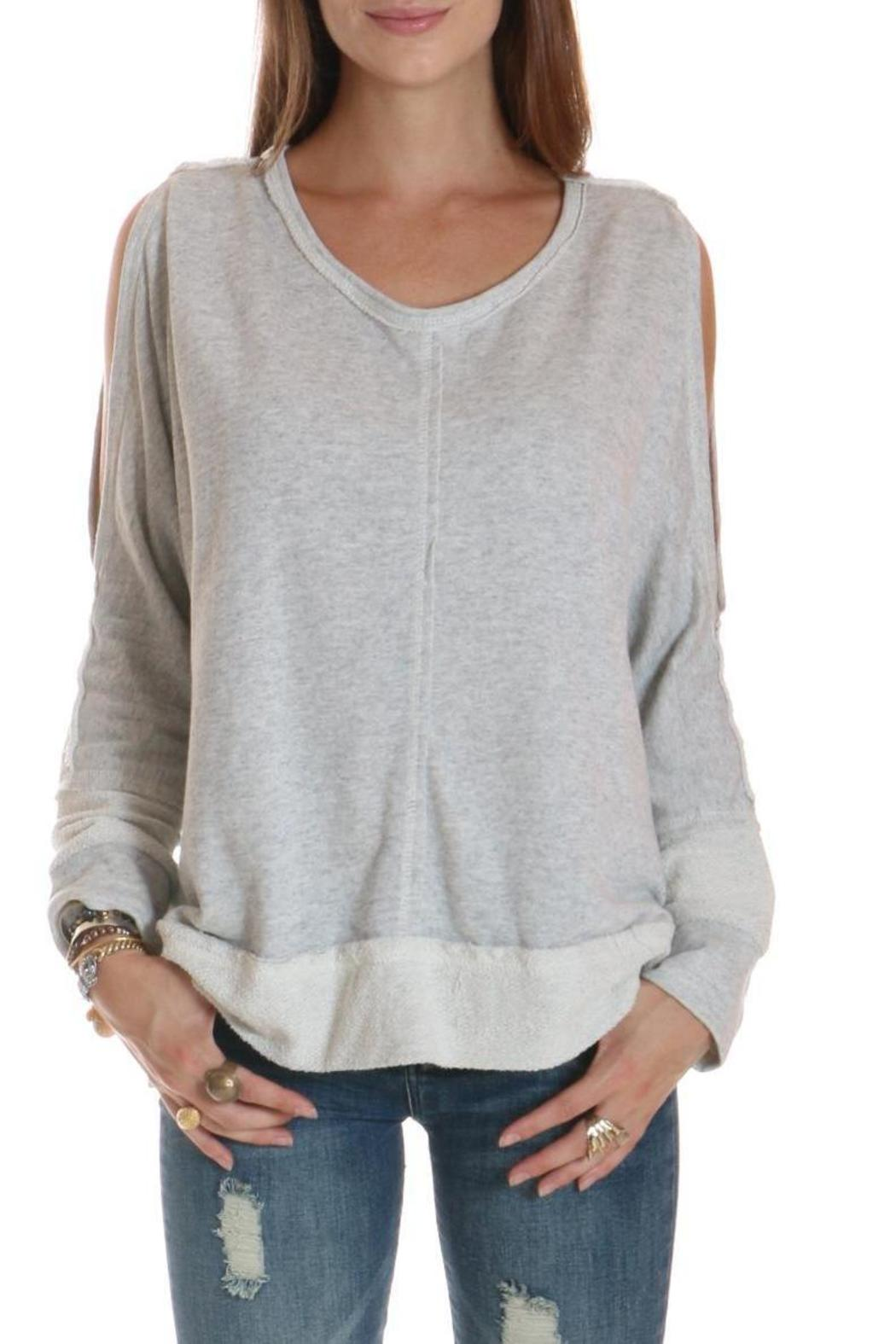 30197c97ef0ab Elan Cold Shoulder Sweatshirt from New York by Love