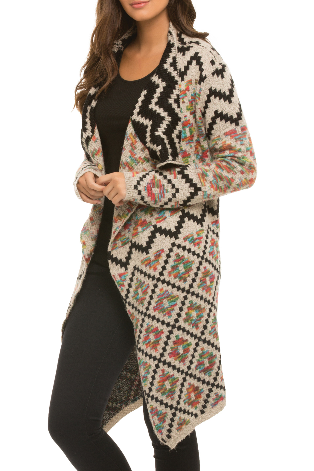 e56ef08d00 Elan Colorful Aztec Cardigan from New Jersey by Unpredictable Juno ...