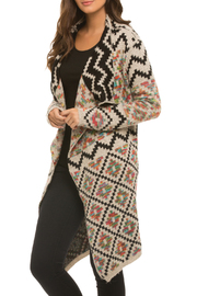Elan Colorful Aztec Cardigan - Product Mini Image