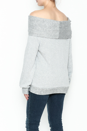 Elan Convertible Cowl Sweater - Back cropped