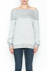 Elan Convertible Cowl Sweater - Front full body
