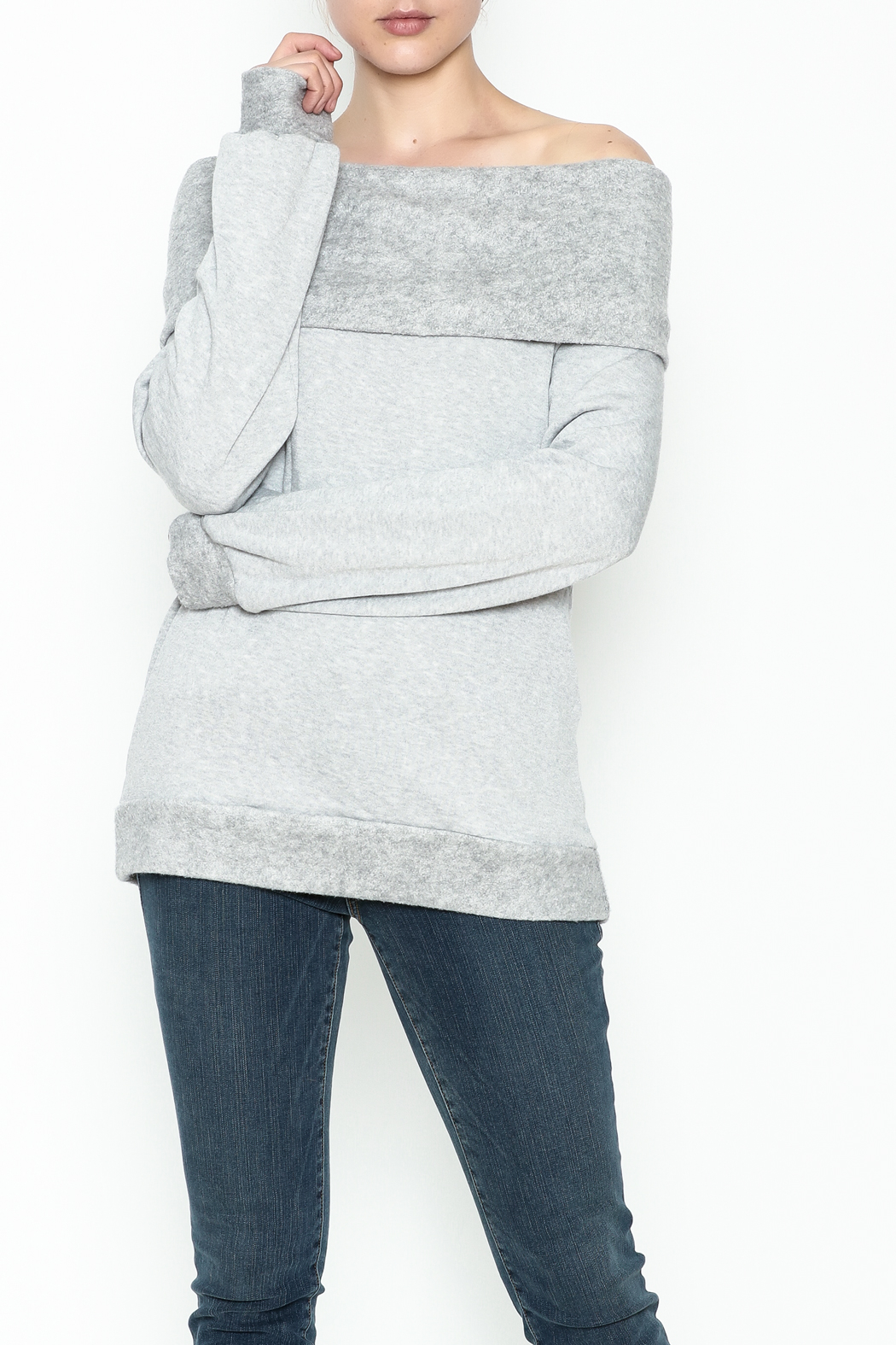 Elan Convertible Cowl Sweater - Main Image