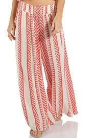 Elan Coral Print Pants - Product Mini Image