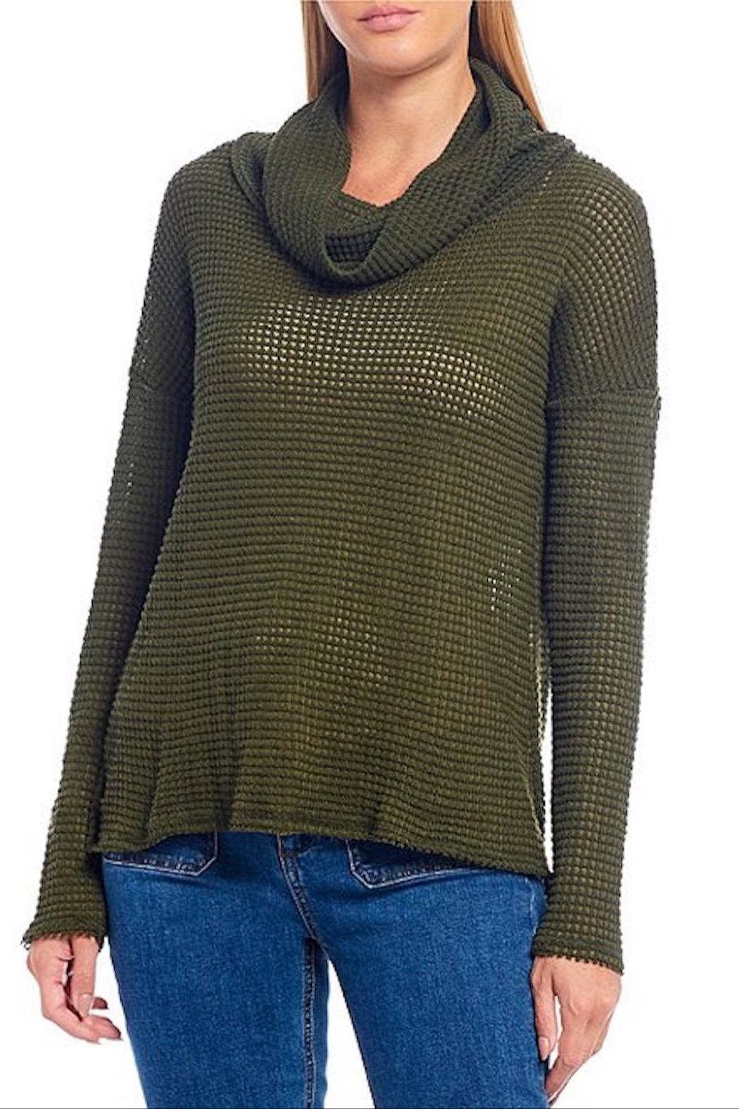 Elan Cowl Neck Top - Main Image