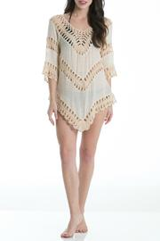 Elan Crochet Panel Tunic - Product Mini Image