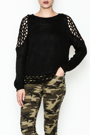 Elan Crochet Sweater - Product Mini Image