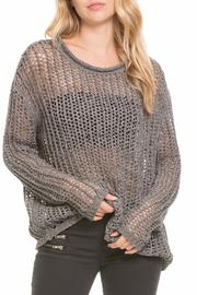 Elan Crocheted Sweater - Product Mini Image