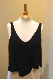 Elan Crop Layered Top - Product Mini Image