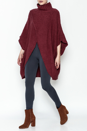 Elan Cross Front Poncho - Side cropped