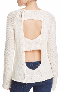 Elan Cut Out Back Sweater - Alternate List Image