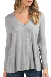 Elan Deep V-Neck Tunic - Product Mini Image
