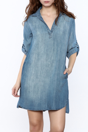 Elan Denim Shift Dress - Product Mini Image