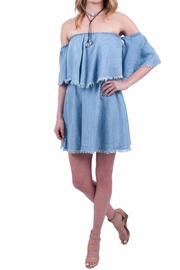 Elan Denim Dress - Product Mini Image
