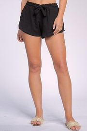 Elan Desta Black Shorts - Product Mini Image