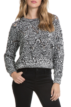Shoptiques Product: Diamond Knit Sweater