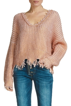 Elan Distressed Sweater - Alternate List Image