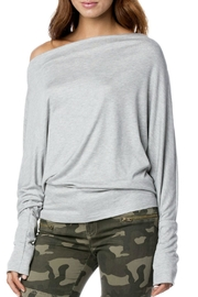 Elan Dolman Boat-Neck Top - Product Mini Image