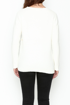 Elan Double Laceup Sweater - Alternate List Image