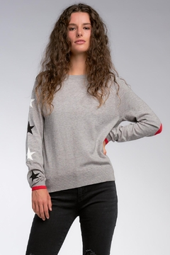 Elan Sweater With Stars - Product List Image