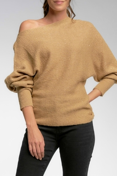 Elan Adee Off The Shoulder Sweater - Product List Image